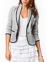 Pentru femei Mărime Plus Size Jachetă Muncă Mată,Stil modern Bumbac / Primăvară / Toamnă
