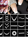 18 Nail Sticker Art Guide Conseils francais Maquillage cosmetique Nail Art Design