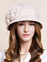 Femei Pană Șifon Lână Diadema-Nuntă Ocazie specială Informal Pălărioare Pălării/Căciuli 1 Bucată