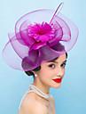 Femei Pană In Diadema-Nuntă Ocazie specială Pălărioare Flori 1 Bucată