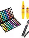 Eyeshadow Palette Mascara Eyeliner Makeup Eye Eyelash Dry Matte Shimmer Waterproof Fast Dry Extended # 120 Colors Cosmetic Grooming Supplies