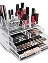 Kosmetik-Opbevaring Skærm Makeup Akryl / Plast Andre Daglig Daglig makeup Stor kapacitet Kosmetiske Plejemidler