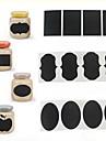 36pcs cretă Etichete lipicioase pen tabla borcan bucătărie vinil decals decor 5cm x 3,5 cm