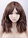 Syntetiska peruker Löst vågigt Densitet Utan lock Dam Brun Naturlig peruk Mellan Syntetiskt hår