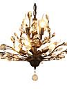 LightMyself™ Moderne / Contemporain Lustre Lumiere d'ambiance - Cristal LED, 110-120V 220-240V Ampoule non incluse