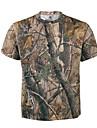 Herre Dame Unisex camouflage Jagt T-shirt m. camouflagemønster Udendørs Svedreducerende T-Shirt Toppe Sommer Bomuld Terylene Kortærmet Jagt