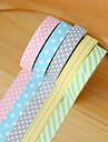Adorable ensemble de 5 rubans de papier decoratif pour decoration de bricolage