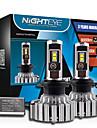 2pcs nighteye / set super-luminos h7 70W / set auto 9000lm 6000k dc8-48v a condus lampă faruri de ceață kit de conversie bec h7 auto