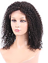 Human Hair Glueless Full Lace Full Lace Wig Brazilian Hair Afro Wig 130% Density 16 inch with Baby Hair Natural Hairline African American Wig 100% Hand Tied Women\'s Short Medium Length Long Human