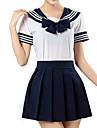 Inspirat de Sailor Moon Cosplay Anime Costume Cosplay Costume Cosplay Dungi Manșon scurt Cămașă / Fustă Pentru Bărbați / Pentru femei