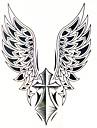 1 Tatueringsklistermärken Annat Ländrygg VattentätDam Herr Vuxen Tonåring Blixttatuering tillfälliga tatueringar