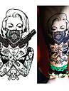 1 pcs Временные татуировки Одноразового использования плечо / ножка / Грудь Бумага Временные тату / Стикер татуировки