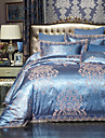 Duvet Cover Sets Luxury Embroidery 4 PieceBedding Sets / 500 / 4pcs (1 Duvet Cover, 1 Flat Sheet, 2 Shams)