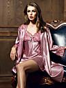 femei pijama de mătase respiră confortabil moale sexy de aproape