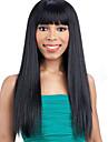 人毛 グルテンフリーレースフロント フロントレース かつら スタイル ブラジリアンヘア Kinky Curly ネイチャーブラック かつら 130% 毛の密度 ベビーヘアで ナチュラルヘアライン ブラックアメリカン風ウィッグ 100%手作業縫い付け ネイチャーブラック 女性用 ショート ミディアム ロング 人毛レースウィッグ Luckysnow / その他の特徴カーリー
