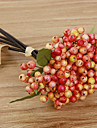 5 ramură stirofoamă fructe de pădure acasă decorare flori artificiale