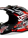 beon full face off-road motocicleta casca abs viteza motorsport casca de culoare negru / roșie