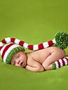 Fete Băieți Seturi de Eșarfe, Căciuli & Băști-Toate Sezoanele Bumbac Îmbrăcăminte tricotată Roșu