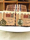 Tonda / Quadrato / Cuboidi Carta Porta-bomboniera con Nastri / Stampe Bomboniere scatole - 50