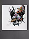 Peint a la main Abstrait Animal Horizontale,Moderne Style europeen Un Panneau Peinture a l\'huile Hang-peint For Decoration d\'interieur