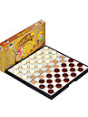 Brädspel Leksaker Magnet Cirkelrunda Plast Bitar Present