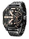 Oulm Bărbați Ceas Elegant  Ceas La Modă Ceas de Mână Ceas Brățară Unic Creative ceas Ceas Sport Ceas Militar  Quartz Japonez Rezistent la