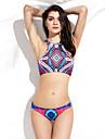 bikini de bijuterie triunghiulară pentru bărbați - geometrică, tricoul racerback