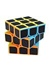cubul lui Rubik Fibra de carbon 3*3*3 Cub Viteză lină Cuburi Magice puzzle cub Mat Cadou Unisex