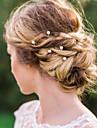 Imitație de Perle / Aliaj Instrumentul pentru păr / Hair Stick / Pini de păr cu 1 Nuntă / Ocazie specială / Casual Diadema