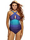 Femei O Piesă Femei Bustieră Monocolor Polyester Spandex