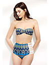 Pentru femei Boho Bikini Geometric Halter