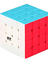 Rubiks kub QI YI Hämnd 4*4*4 Mjuk hastighetskub Magiska kuber Pusselkub Lena klistermärken Present Unisex