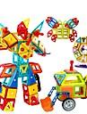 Bloc magnetic / Lego 128pcs Mașină / Robot / Ferris Wheel Cadou / Magnetic / Reparații Fete Cadou