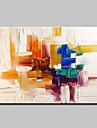 Pictat manual Abstract Orizontal, Modern Stil European pânză Hang-pictate pictură în ulei Pagina de decorare Un Panou