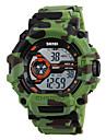 SKMEI Bărbați Piloane de Menținut Carnea Ceas digital / Ceas de Mână / Ceas Militar  / Ceas Sport Japoneză Alarmă / Calendar / Cronograf