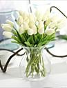 10 ramură PU Real atingere Lalele Față de masă flori Flori artificiale