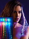 SENCART LED Night Light Batteri Vattenavvisande epoxiskydd PBT 1 Set Lampor 38.0*0.8*0.3cm