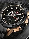 NAVIFORCE Bărbați Ceas de Mână Ceas Militar  Ceas La Modă Ceas Sport Ceas Casual Japoneză Quartz Calendar Rezistent la Apă LED Mare Dial