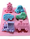 bakformen Gryende För Godis Is Choklad Tårta Silikon GDS (Gör det själv) Hög kvalitet 3D Semester