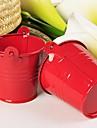 12pcs / set - coș de bomboane de bomboane roșii decoratiuni de partid 7 x 6 x 6 cm / buc