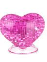 Παζλ 3D Κρυστάλλινα παζλ Τριαντάφυλλα Καρδιά Διασκέδαση Πλαστική ύλη Κλασσικό Παιδικά Γιούνισεξ Δώρο