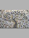 Pictat manual Peisaje Abstracte  Orizontal,Modern Un Panou Canava Hang-pictate pictură în ulei For Pagina de decorare