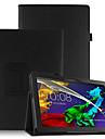 Cover cover case pentru lenovo tab3 tab 3 10 de afaceri x70f tb3-x70f x103f cu protector de ecran