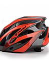 MOON Adultes Casque de vélo 25 Aération Résistant aux impacts EPS, PC Cyclisme sur Route / Cyclisme / Vélo / Vélo tout terrain / VTT - Rouge noir