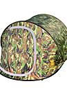 3-4 personer Tält Dubbel Tält Utomhus Pop upp tält Fuktighetsskyddad Vattentät Vindtät Regnsäker för Camping Fiske Utomhus Resa 2000-3000