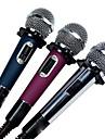 """6.3 מ""""מ מִיקרוֹפוֹן מחובר מיקרופון דינמי מיקרופון ידני עבור מיקרופון לקריוקי"""