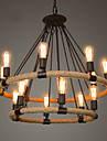Lumânare stil Candelabre Lumini Ambientale - Stil lumânare, 110-120V / 220-240V Becul nu este inclus / 20-30㎡ / E26 / E27