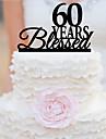 Vârfuri de Tort Temă Grădină Temă Clasică Teracotă Nuntă Aniversare Zi de Naștere Cheful Burlacelor cu OPP