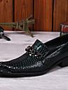 Bărbați Oxfords Primăvară Vară Toamnă Iarnă Pantofi formale Nappa Leather Outdoor Birou & Carieră Casual Party & Seară Negru