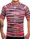 SUREA Maillot de Cyclisme Homme Manches Courtes Velo Maillot Hauts/Top Sechage rapide Respirable Anti-transpiration Coolmax LYCRA®